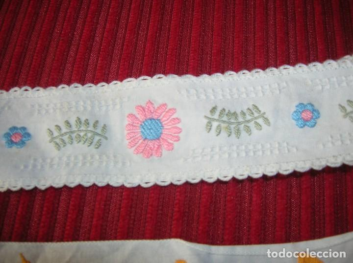 Vintage: Tres tiras bordadas muy bonitas, - Foto 4 - 198292728