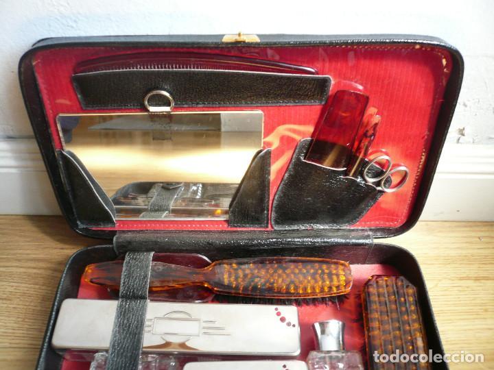 Vintage: NECESER DE CABALLERO AÑOS 50. COMPLETO. FRANCIA - Foto 23 - 199140548
