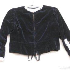 Vintage: CORPIÑO EN TERCIOPELO DE FALLERA INFANTIL.. Lote 199154675