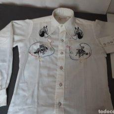 Vintage: ANTIGUA CAMISA AMERICANA NIÑO. Lote 199794268