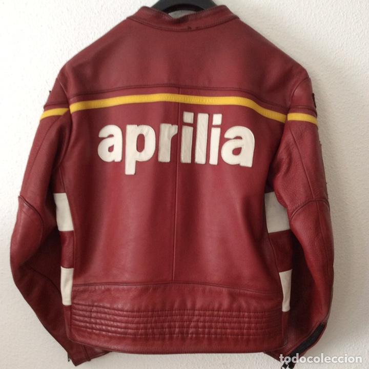 Vintage: Chaqueta de piel chesterfield Aprilia - Foto 2 - 200064495