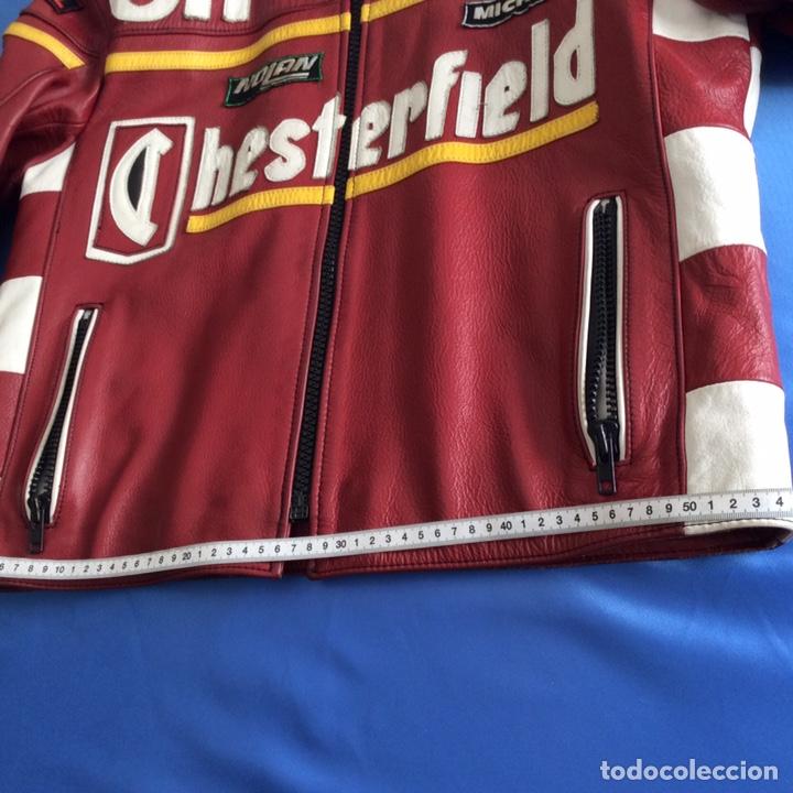 Vintage: Chaqueta de piel chesterfield Aprilia - Foto 8 - 200064495