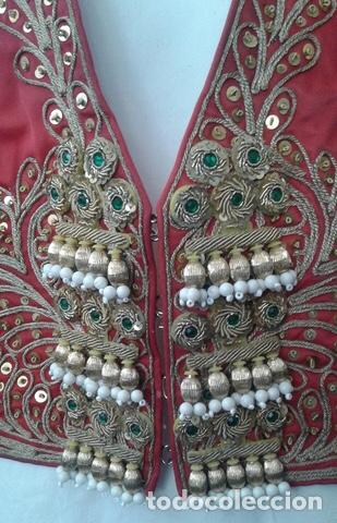 Vintage: Traje de Luces Torero Vintage Años 80 Grana y Oro - Foto 3 - 201208422