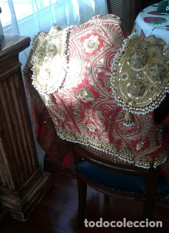 Vintage: Traje de Luces Torero Vintage Años 80 Grana y Oro - Foto 6 - 201208422
