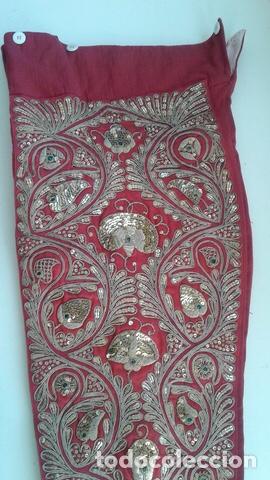 Vintage: Traje de Luces Torero Vintage Años 80 Grana y Oro - Foto 9 - 201208422
