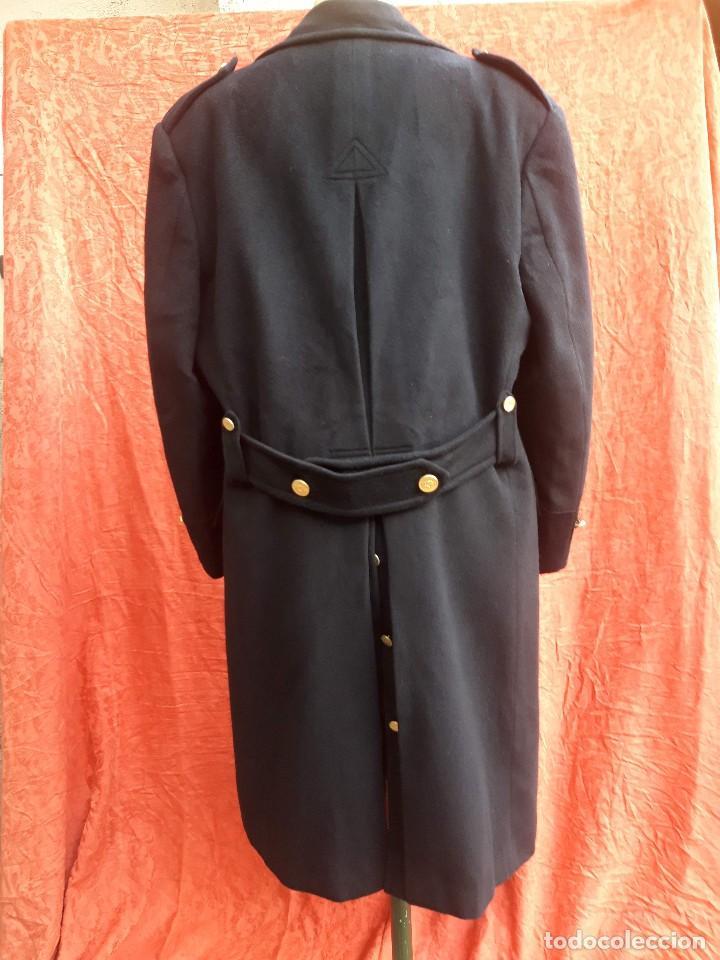Vintage: Abrigo militar o de uniforme, hacia 1970 - Foto 4 - 201805696