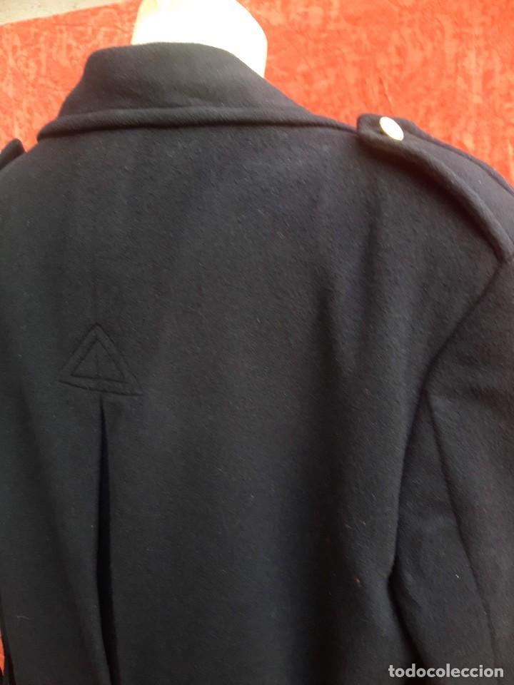 Vintage: Abrigo militar o de uniforme, hacia 1970 - Foto 5 - 201805696