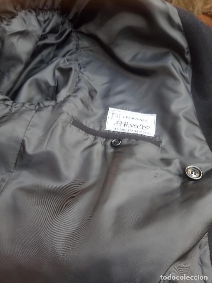 Vintage: Abrigo militar o de uniforme, hacia 1970 - Foto 7 - 201805696