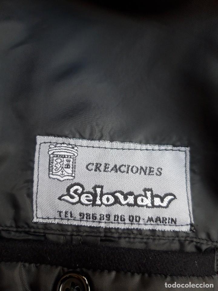 Vintage: Abrigo militar o de uniforme, hacia 1970 - Foto 8 - 201805696
