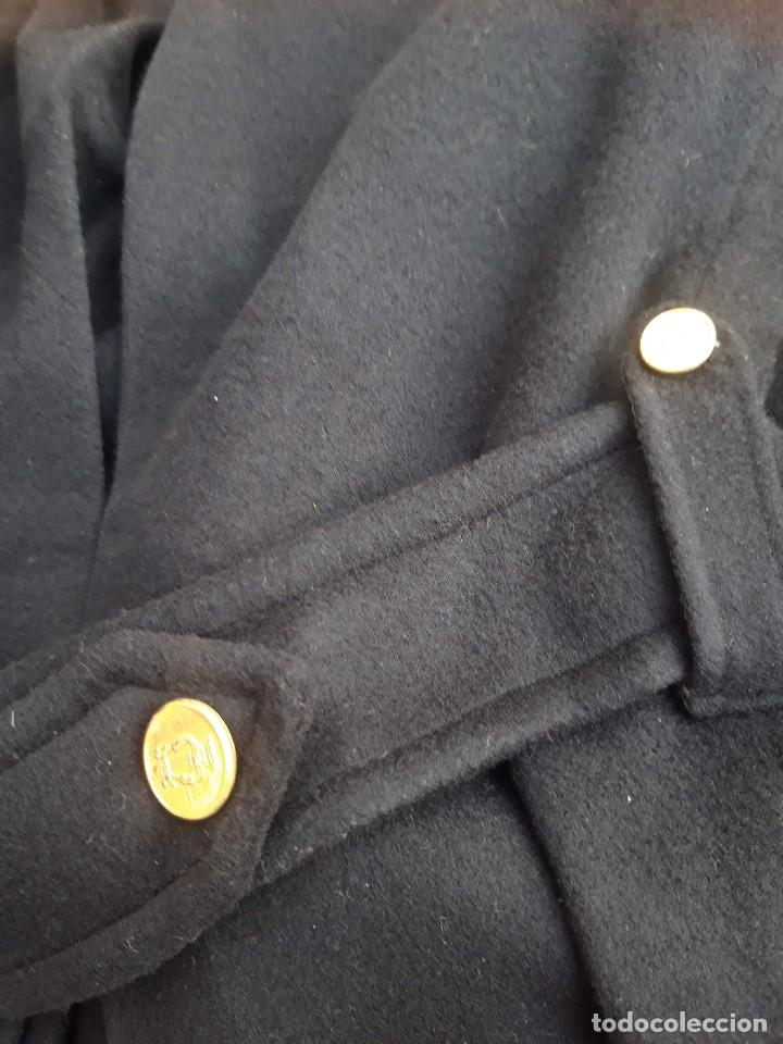 Vintage: Abrigo militar o de uniforme, hacia 1970 - Foto 9 - 201805696