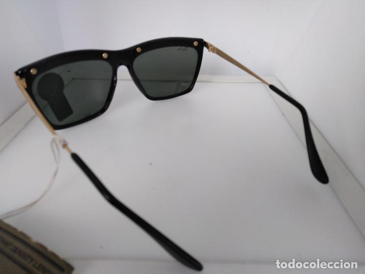 Vintage: Nuevo Ray Ban Olympics Series Lentes G15 en negro y dorado 1992 B & L USA 80s Gafas de sol - Foto 7 - 202665838