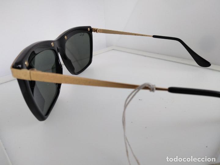 Vintage: Nuevo Ray Ban Olympics Series Lentes G15 en negro y dorado 1992 B & L USA 80s Gafas de sol - Foto 8 - 202665838