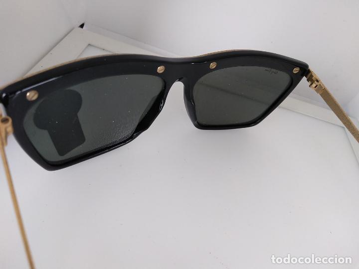 Vintage: Nuevo Ray Ban Olympics Series Lentes G15 en negro y dorado 1992 B & L USA 80s Gafas de sol - Foto 9 - 202665838