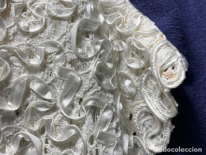 Vintage: camisa blusa gio canetti muy elaborada flores relieve crisantemos talla L italia italy años 60 65cms - Foto 7 - 202938106