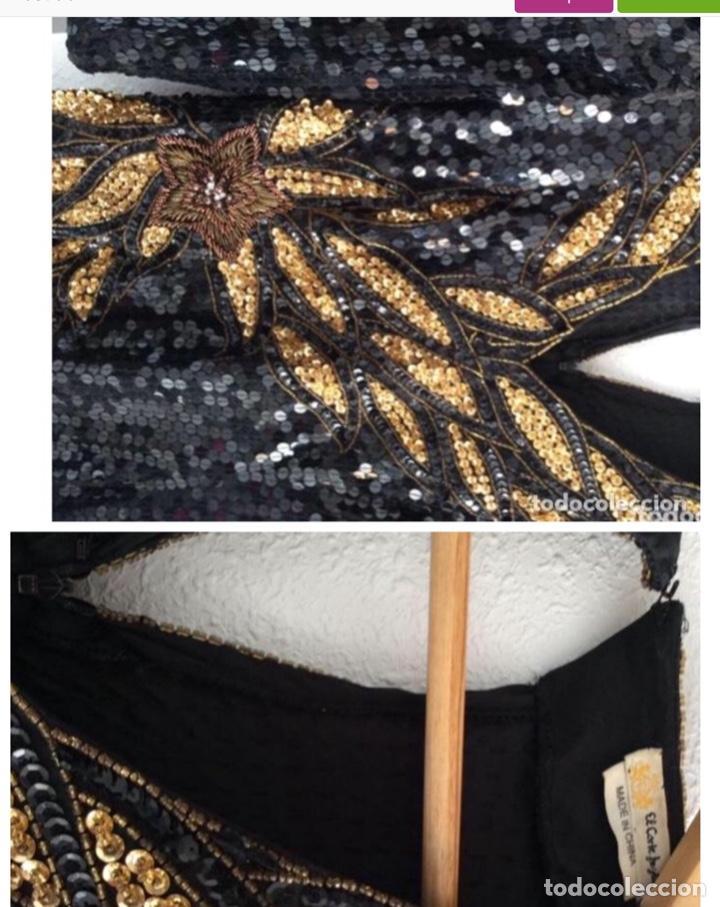 Vintage: Vestido de lentejuelas vintage comprado corte ingles - Foto 2 - 203592560
