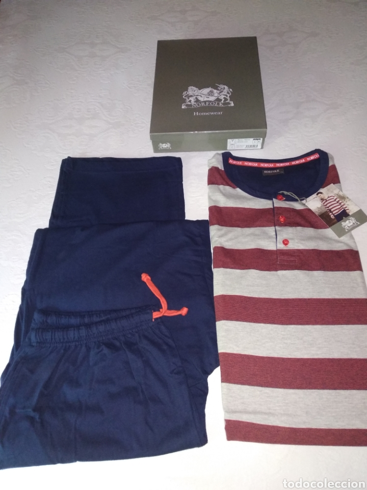 Vintage: Pijama norfolk, sin estrenar. - Foto 4 - 203788866