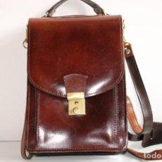 Vintage: ANTIGUO BOLSO BANDOLERA HOMBRE. Lote 203823565