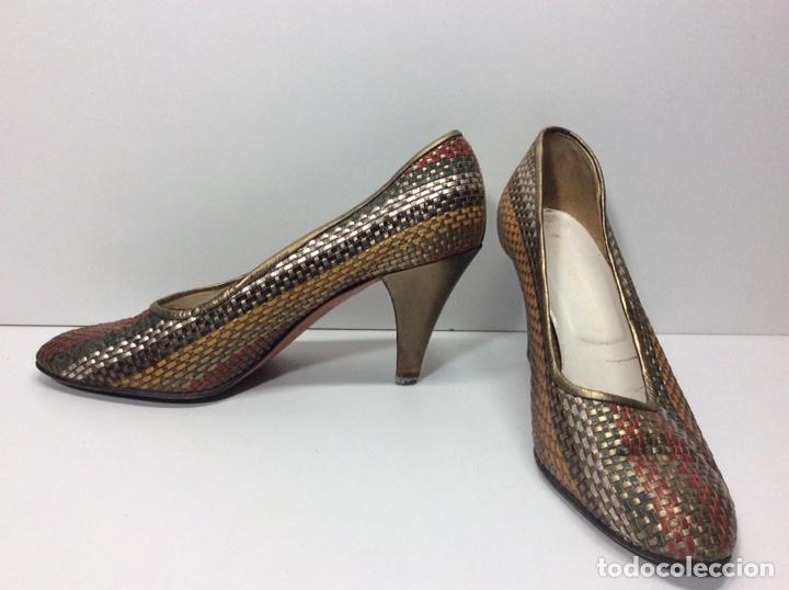 Vintage: Zapato Vintage usados N 36 - Foto 2 - 204221500