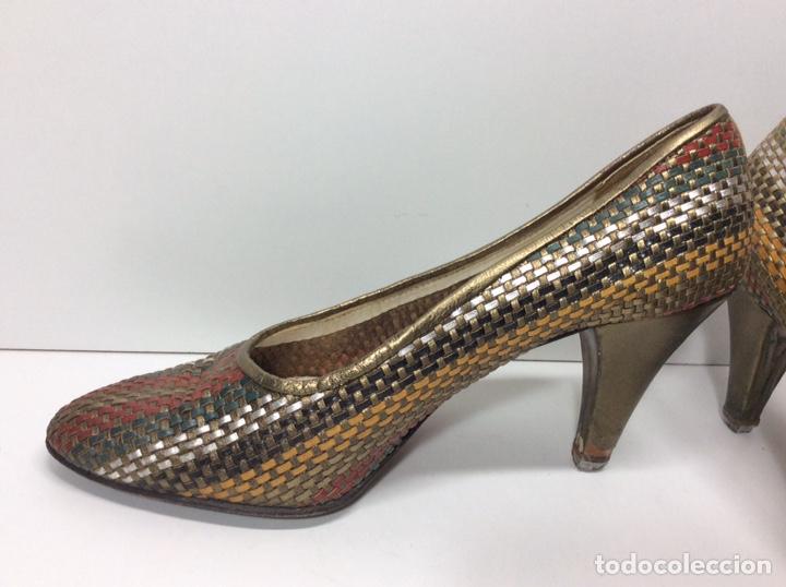 Vintage: Zapato Vintage usados N 36 - Foto 3 - 204221500