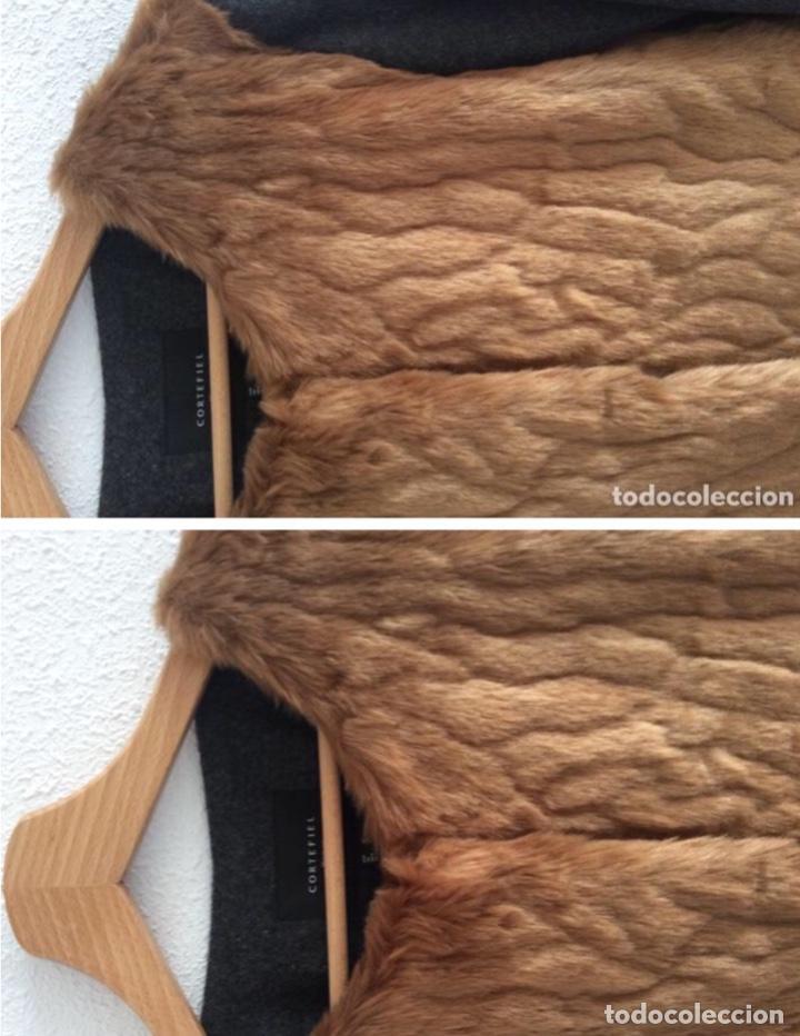 Vintage: Espectacular abrigo Cortefiel sin usar de pelo y paño con etiqueta - Foto 2 - 204252703