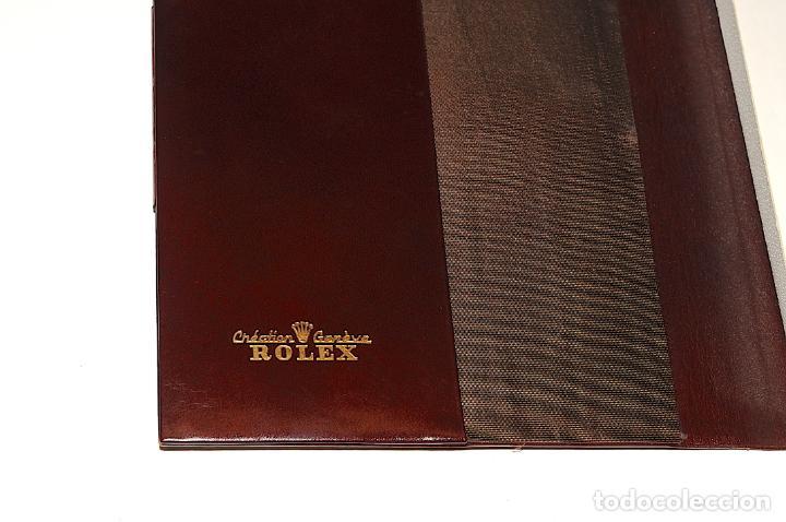 Vintage: AGENDA DE PIEL MARRON - MARCA ROLEX - Foto 3 - 204314758