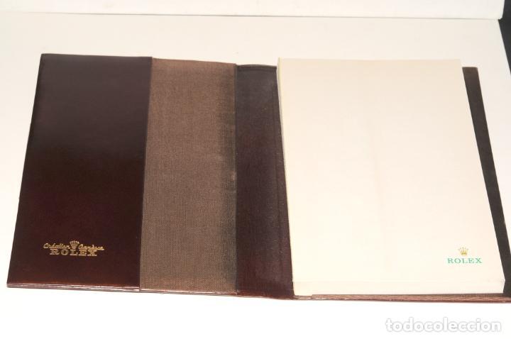 Vintage: AGENDA DE PIEL MARRON - MARCA ROLEX - Foto 6 - 204314758
