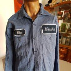 Vintage: CAMISA DE TRABAJO USA , AMERICANA. MANGA LARGA. MIKE. Lote 204694865