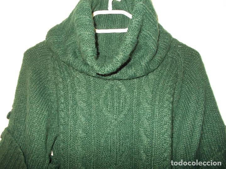 Vintage: Miss Selfridge jersey invierno media manga cuello alzado nunca usado talla 8 importado de UK - Foto 2 - 204780353