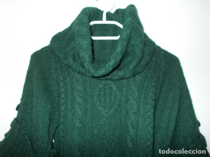 Vintage: Miss Selfridge jersey invierno media manga cuello alzado nunca usado talla 8 importado de UK - Foto 6 - 204780353
