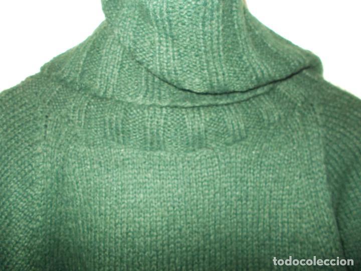 Vintage: Miss Selfridge jersey invierno media manga cuello alzado nunca usado talla 8 importado de UK - Foto 7 - 204780353