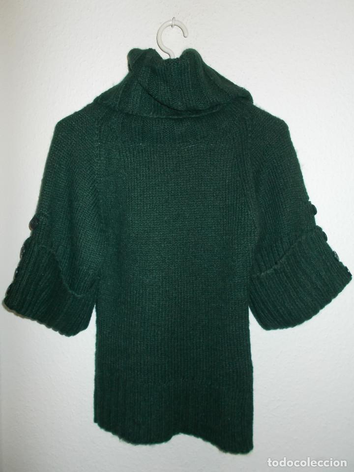 Vintage: Miss Selfridge jersey invierno media manga cuello alzado nunca usado talla 8 importado de UK - Foto 8 - 204780353