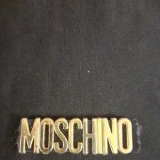 Vintage: LOGO DE MOSCHINO DE BOLSO DE LOS AÑOS 70. Lote 205005221