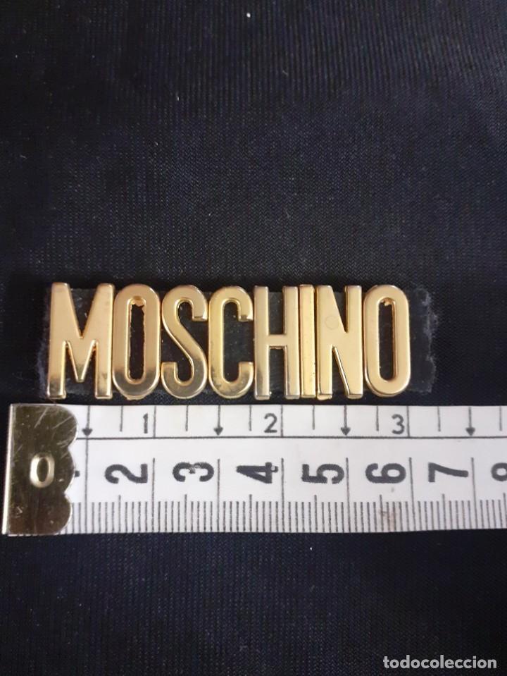Vintage: logo de Moschino de bolso de los años 70 - Foto 3 - 205005221