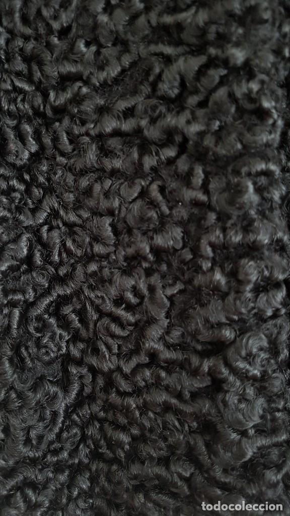 Vintage: Chaqueton piel astracan negro - Foto 2 - 39025347