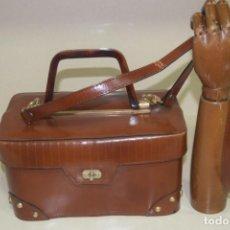 Vintage: BOLSO DE PIEL DE MIRFOR SIN USO. Lote 205196696