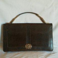 Vintage: BOLSO DE LAGARTO. Lote 205269272