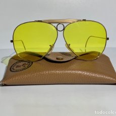 Vintage: GAFAS BAUSCH & LOMB RAY-BAN USA KALICHROME BULLET HOLE OUTDOORSMAN SHOOTER. GENUINE '70S/'80S. MINT.. Lote 205272912