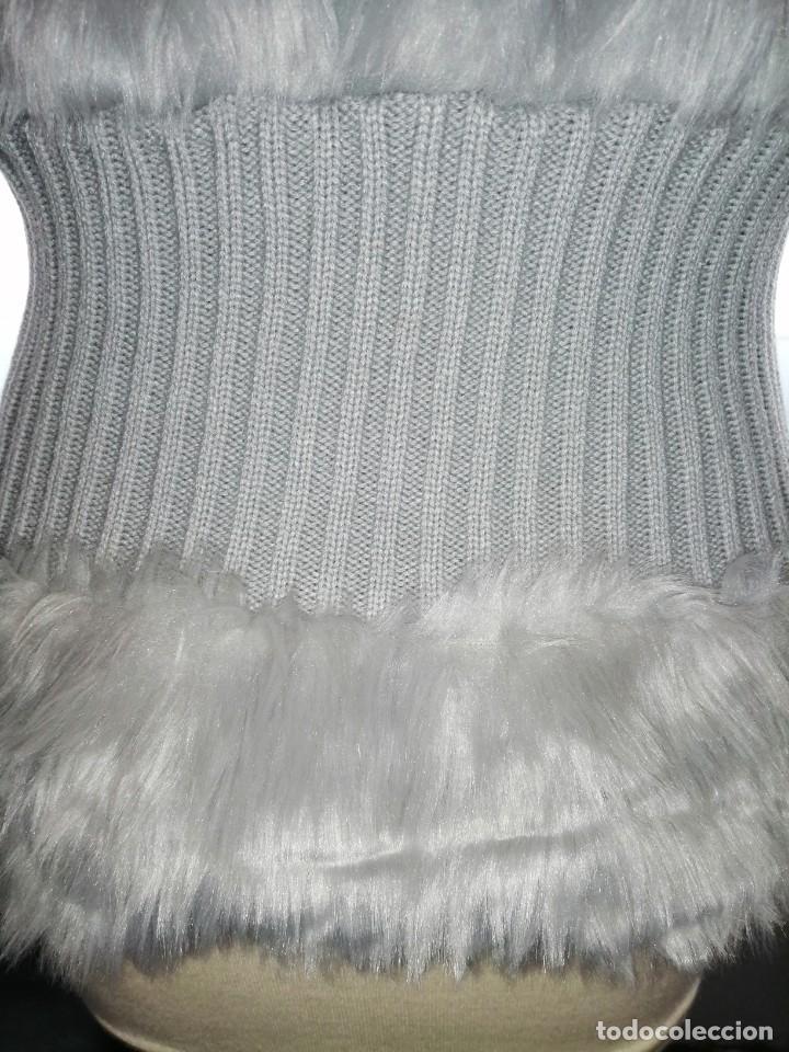 Vintage: Chaleco gris perla - Foto 8 - 205276986