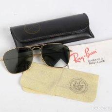 Vintage: GAFAS RAY-BAN CON FUNDA Y PAÑO ORIGINAL. 1994. Lote 205306346