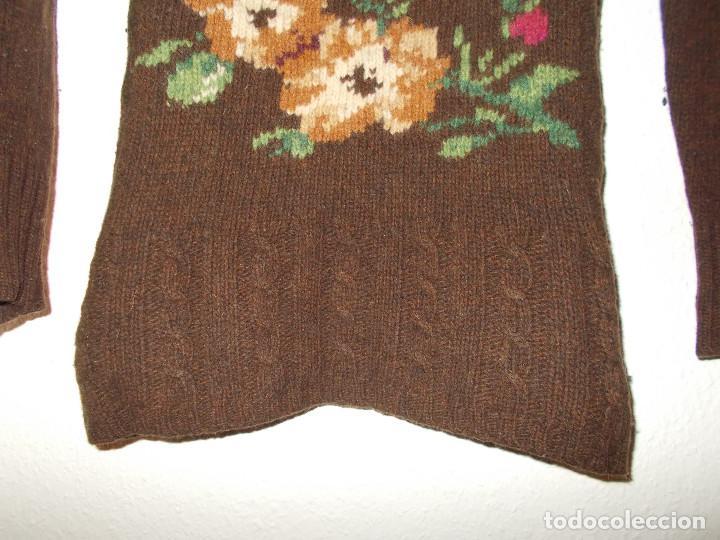 Vintage: Laura Ashley jersey flores invierno cuello alzado talla 10 importado de UK - Foto 2 - 205335556