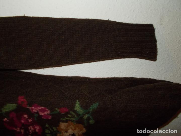 Vintage: Laura Ashley jersey flores invierno cuello alzado talla 10 importado de UK - Foto 3 - 205335556
