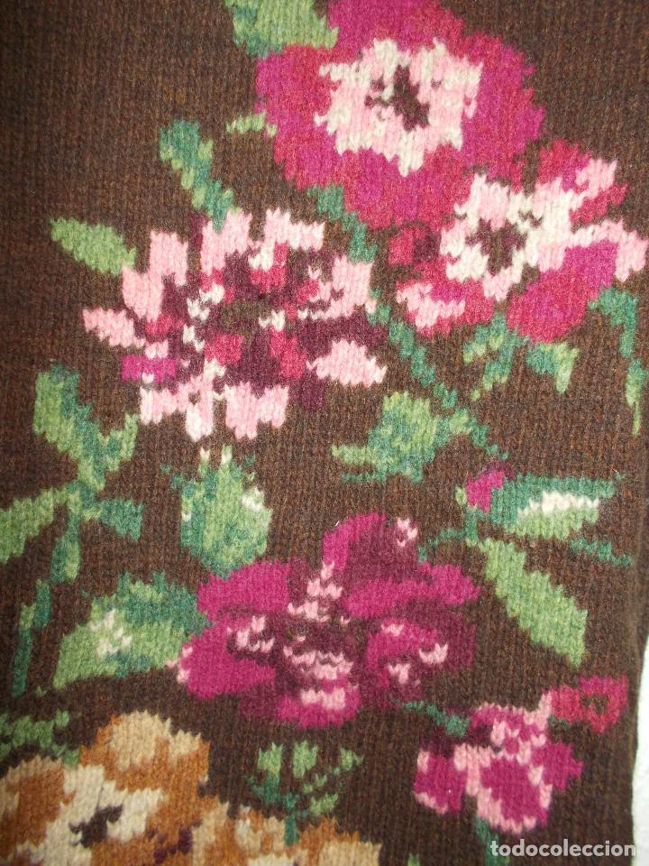 Vintage: Laura Ashley jersey flores invierno cuello alzado talla 10 importado de UK - Foto 4 - 205335556