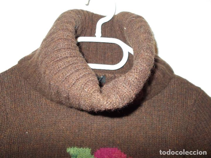 Vintage: Laura Ashley jersey flores invierno cuello alzado talla 10 importado de UK - Foto 5 - 205335556