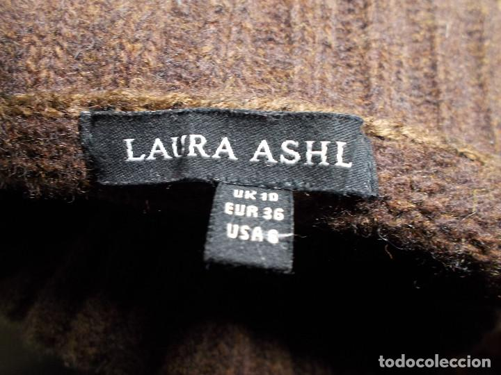 Vintage: Laura Ashley jersey flores invierno cuello alzado talla 10 importado de UK - Foto 7 - 205335556