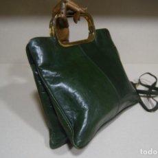 Vintage: BOLSO EN PIEL. Lote 205391400