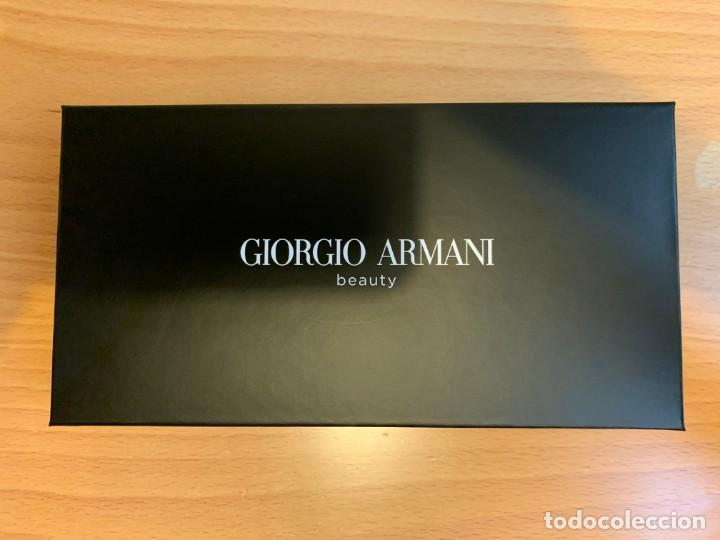 Vintage: Pequeño neceser de Giorgio Armani color rojo - Foto 3 - 205739251