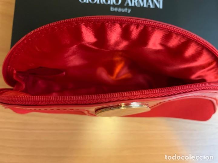 Vintage: Pequeño neceser de Giorgio Armani color rojo - Foto 5 - 205739251