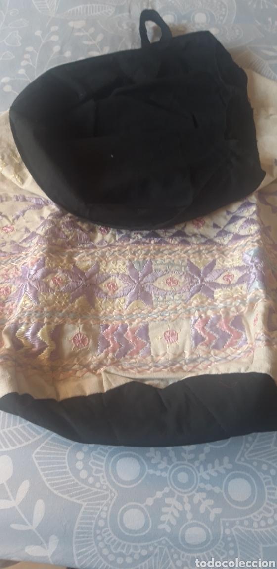 Vintage: Espectacular bolsa o mochila bordada, Vintage. A estrenar. - Foto 3 - 205786740