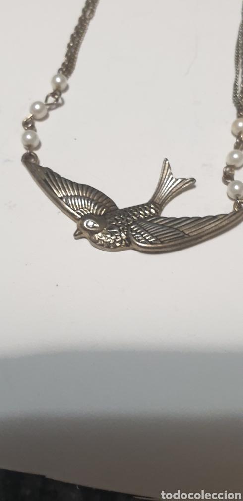 Vintage: Excelente collarcillo diseño antiguo perlinas - Foto 3 - 205873441