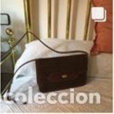 Vintage: BOLSO VINTAGE COMPLETAMENTE NUEVO A ESTRENAR DE NOBUK Y BOXCALF COLOR MARRÓN. Lote 206141312